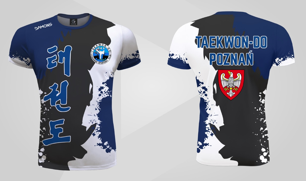 koszulka sublimacyjna Taekwon-do Poznań