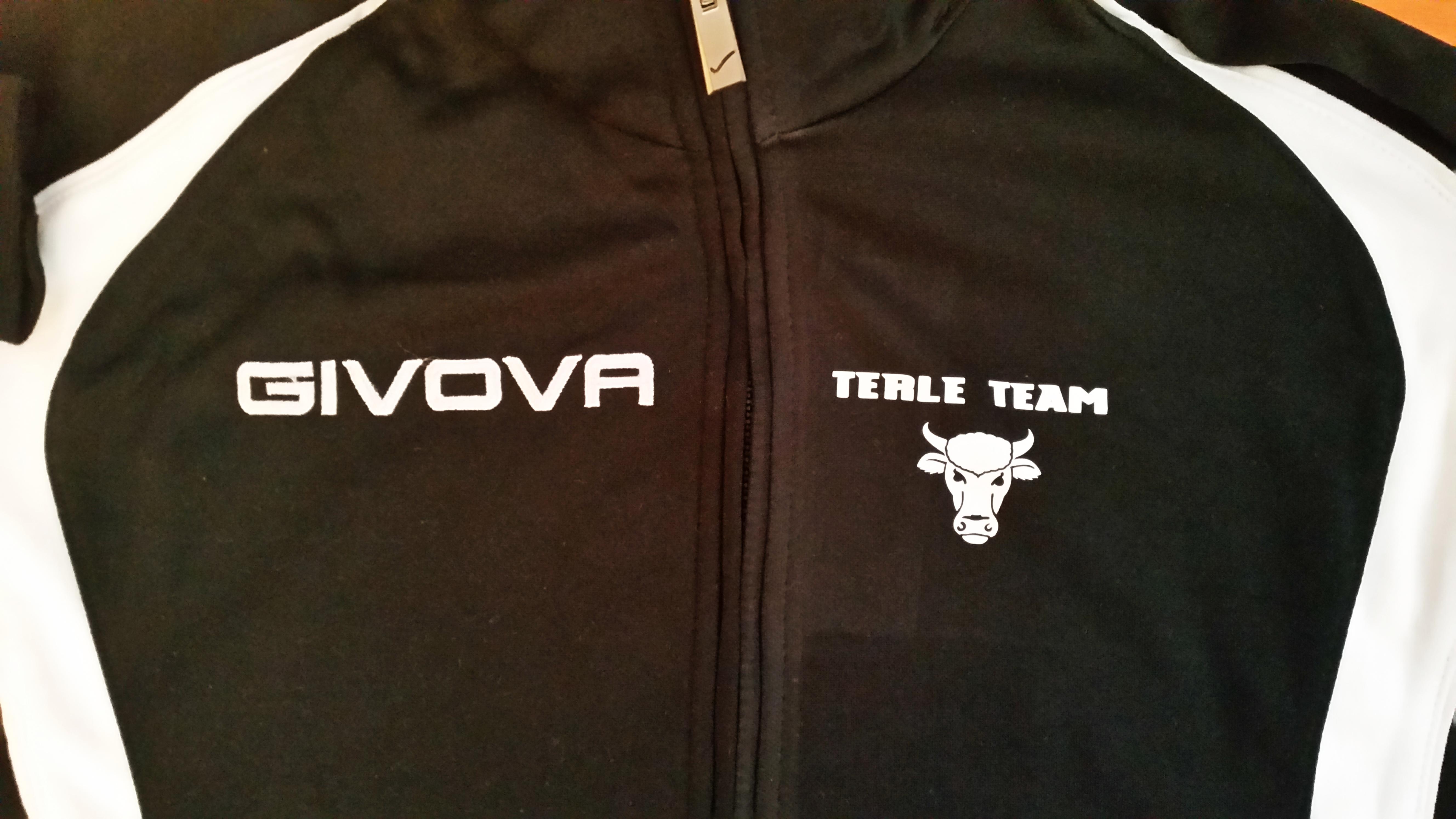 nadruk małego logo Dresy treningowe Givova