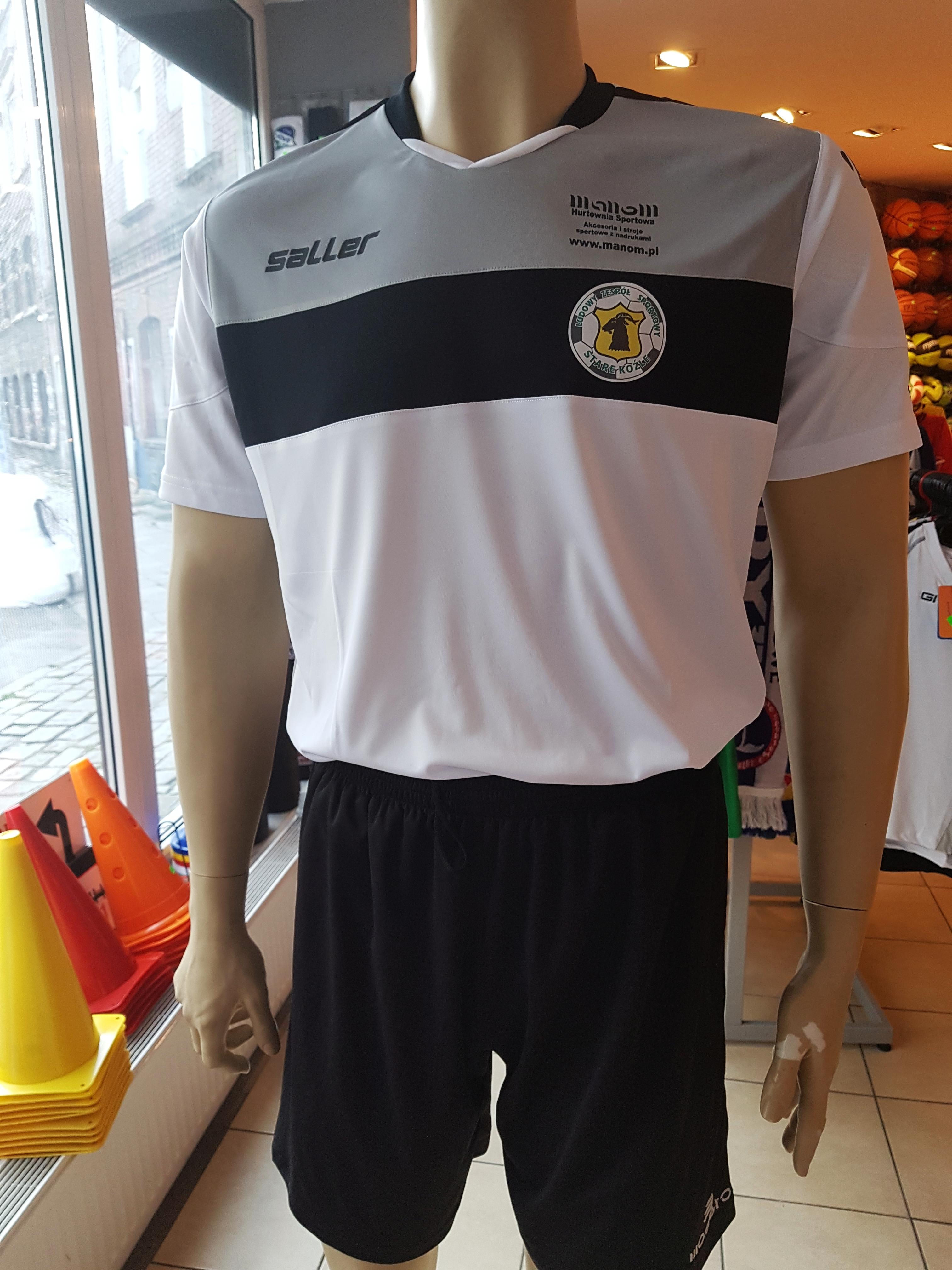 nadruk logo klubu stroje piłkarskie Saller
