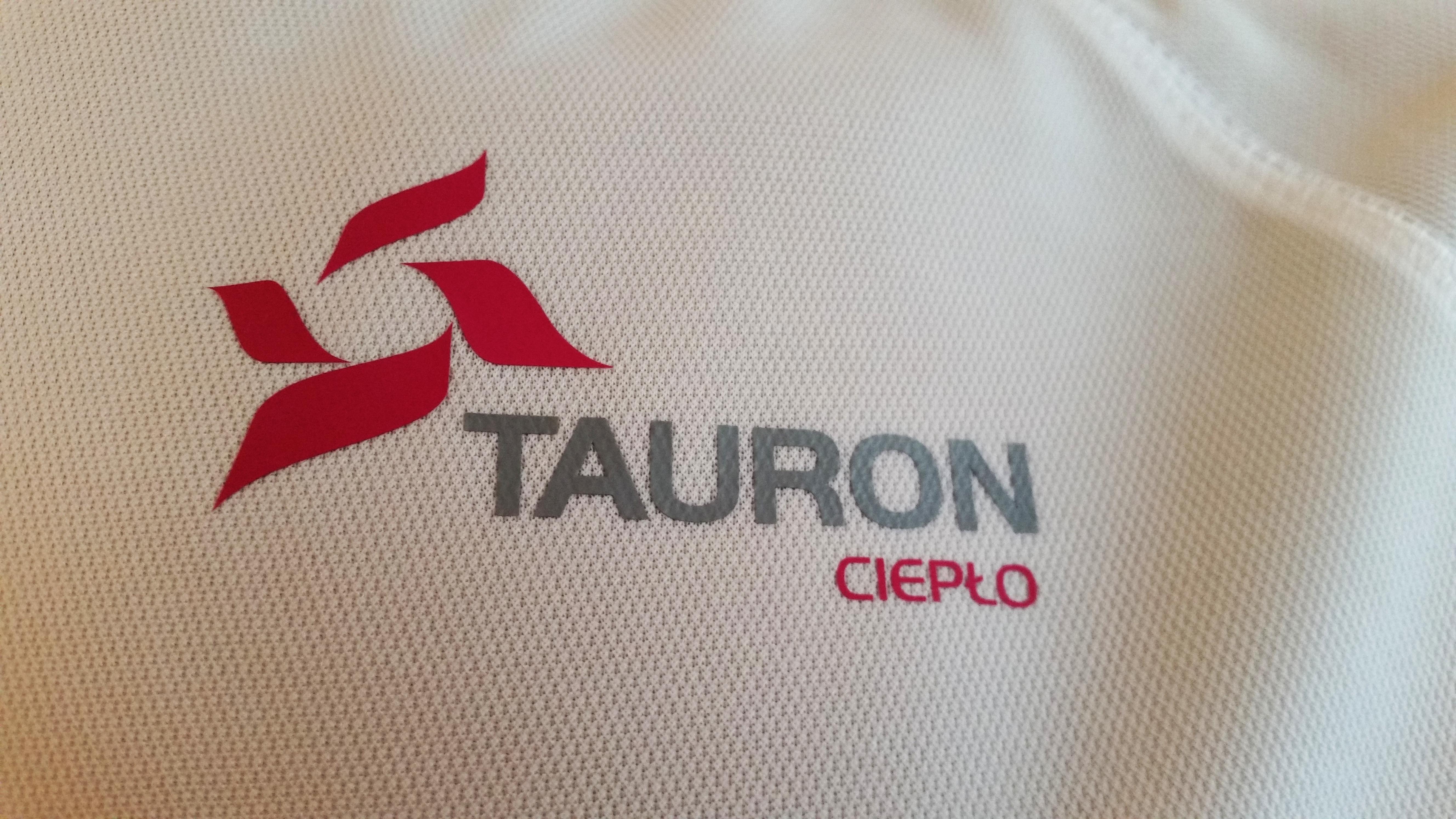 nadruk logo małe Tauron Ciepło