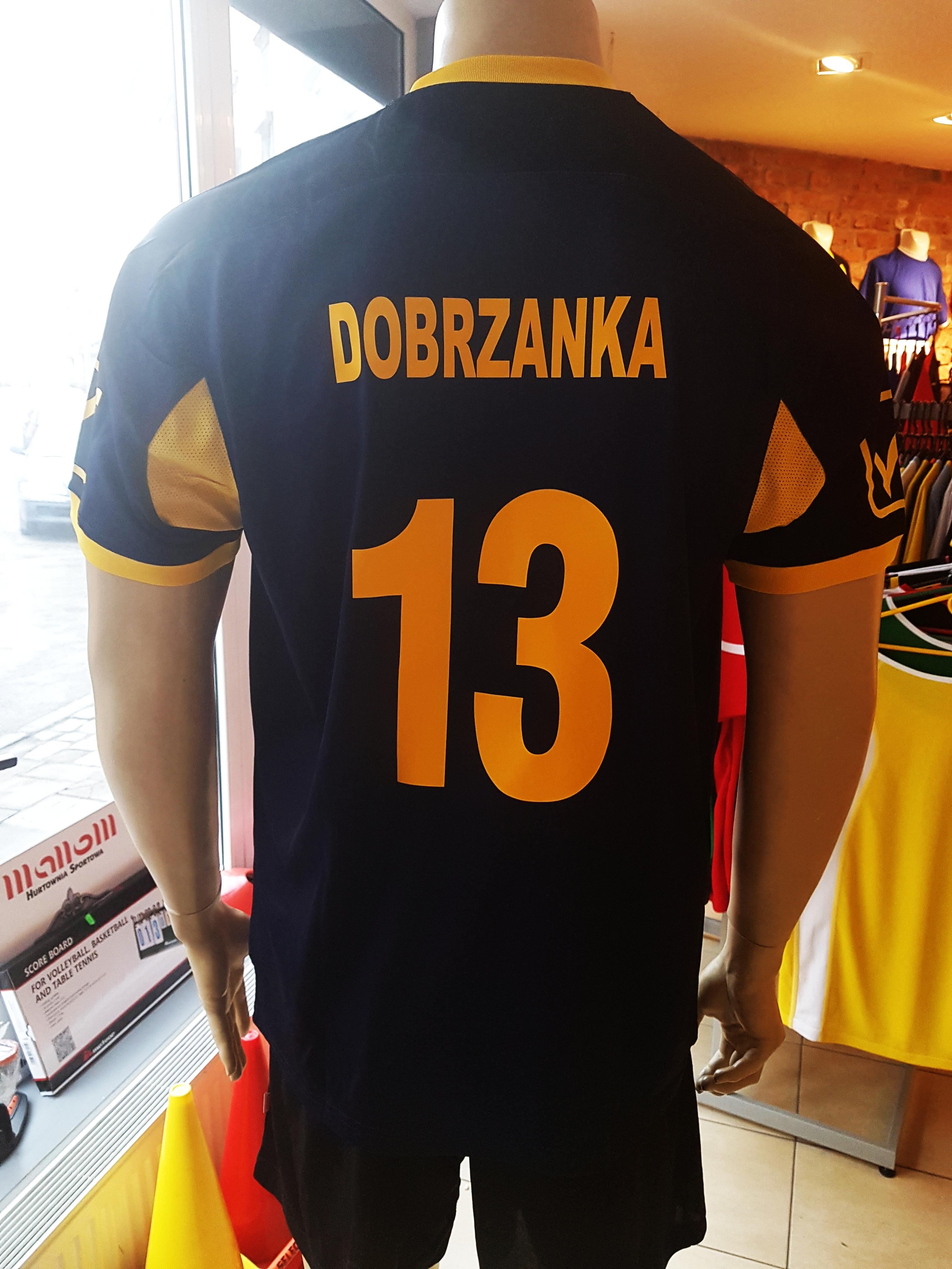 nadrum numer promocyjny żółty + napis